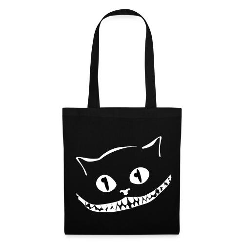 Väska med leende katt - Tygväska