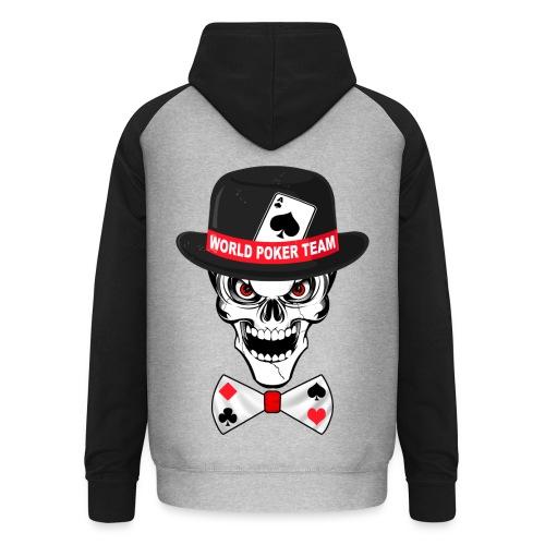 World poker team - Sweat-shirt baseball unisexe