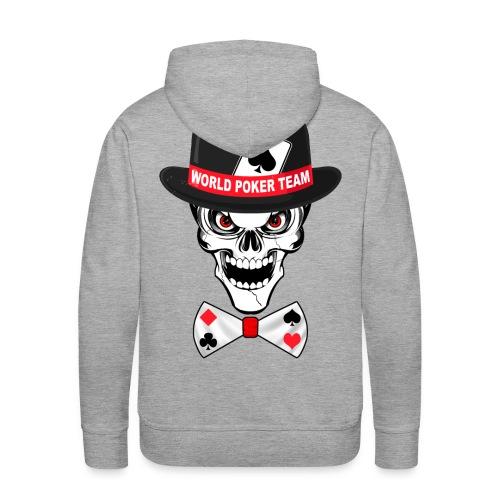 World poker team - Sweat-shirt à capuche Premium pour hommes