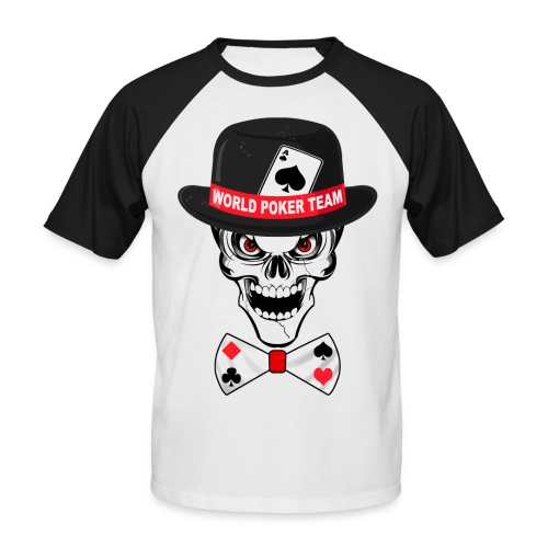 World poker team - T-shirt baseball manches courtes Homme