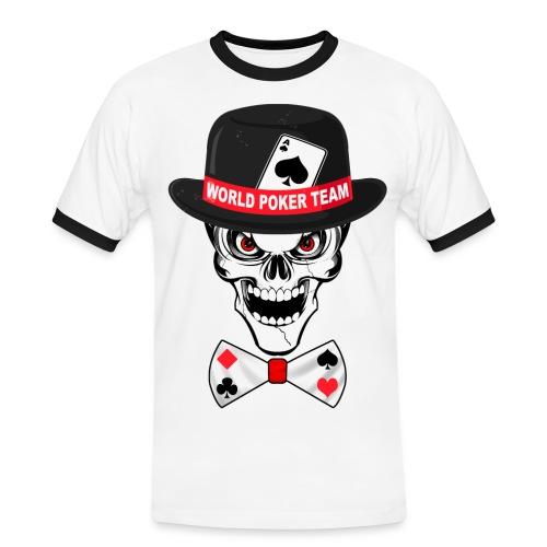 World poker team - T-shirt contrasté Homme