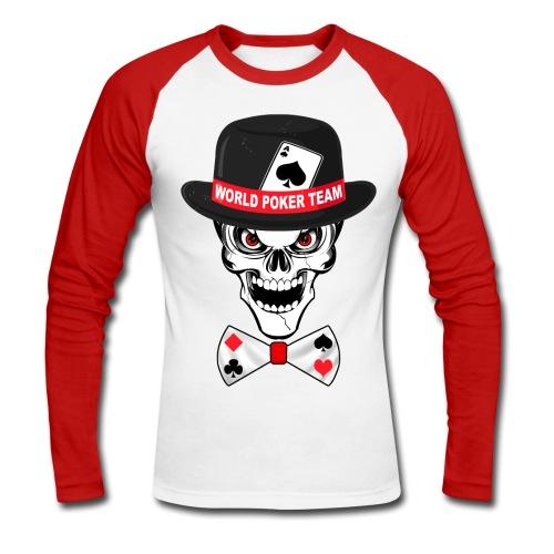 World poker team - T-shirt baseball manches longues Homme