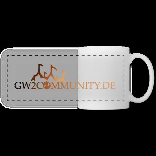 GW2Community Tasse (farbiges Logo) - Panoramatasse