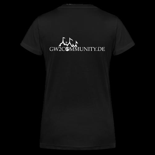 GW2Community Girlie - Frauen Bio-T-Shirt mit V-Ausschnitt von Stanley & Stella