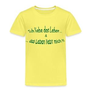 Kinder Premium T-Shirt - Sprüche,Spiritualität,Positives Denken,Lebensweisheiten,Esoterik,Affirmationen