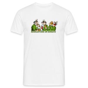 Rennleitung im Einsatz - Männer T-Shirt