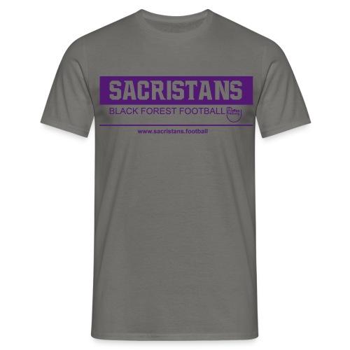 Sacristans - Black Forest Football Tee - Männer T-Shirt