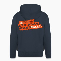 HANDBALL Born to play Hoodies & Sweatshirts