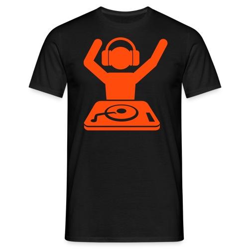 T-SHIRT NO FUMERS NO PARTY arancione - Maglietta da uomo