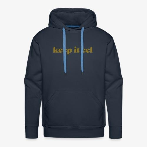Premium Hoodie - Keep it eel - Männer Premium Hoodie
