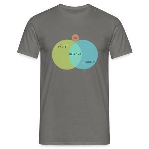 Venn Diagram Truth - Men's T-Shirt