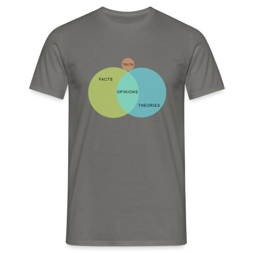 Venn Diagram Truth - Men's T-Shirt