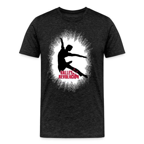 Unisex T-Shirt Ballet Revolución Tänzer, anthrazit - Männer Premium T-Shirt