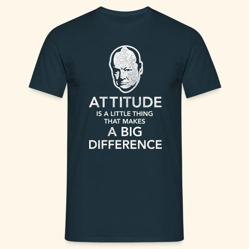 Churchill Zitat T-Shirt - Männer T-Shirt