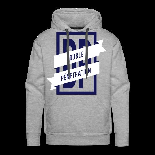 Double pénétration - Sweat-shirt à capuche Premium pour hommes