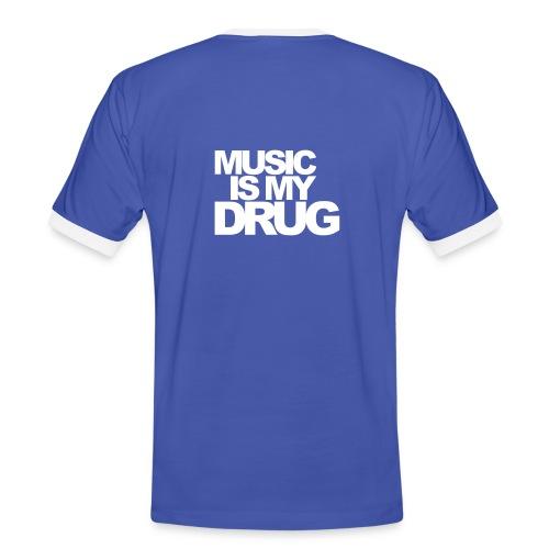 MusicIsMyDrug - Mens - Men's Ringer Shirt