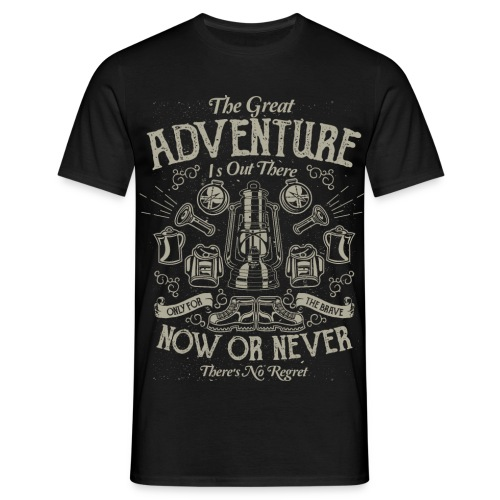 The Great Adventure - Men's T-Shirt