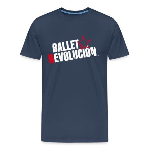 Unisex T-Shirt Ballet Revolución Tänzer, navy - Männer Premium T-Shirt