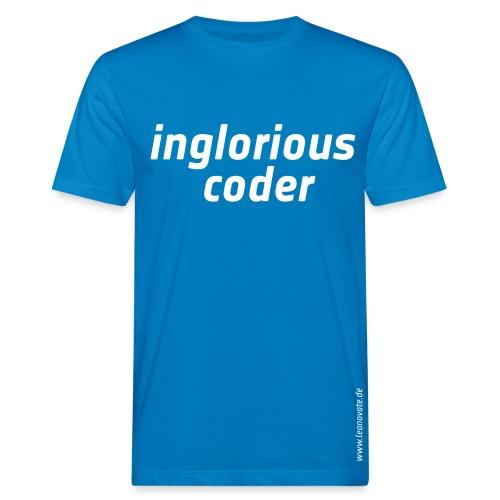 Bio T-Shirt - inglorious coder - Männer Bio-T-Shirt