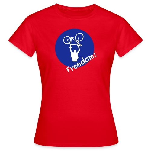 RWBP? Nein Danke! basic rot - Frauen T-Shirt