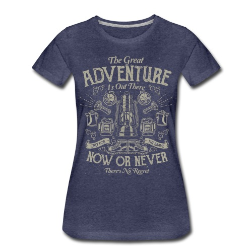 The Great Adventure - Women's Premium T-Shirt