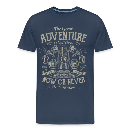 The Great Adventure - Men's Premium T-Shirt