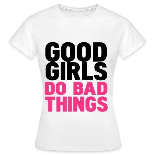 T-shirt m/good girls... - T-skjorte for kvinner