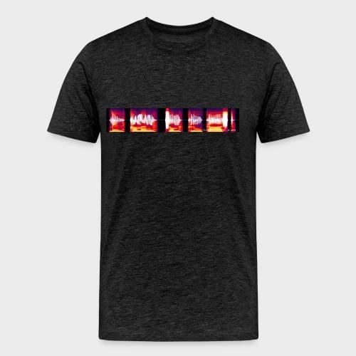 Willkommen zum Clue Cast   Herren Premium T-Shirt (Anthrazit, Vor- und Rückseite) - Männer Premium T-Shirt