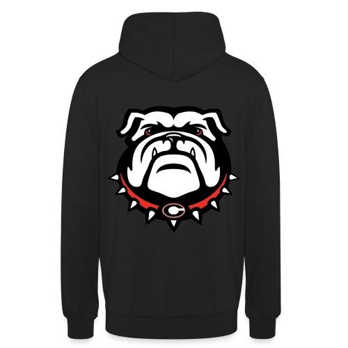 Hoodie Bulldogge Rückenseite JC - Unisex Hoodie