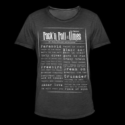 Rocktimes - Vintage-T-shirt herr
