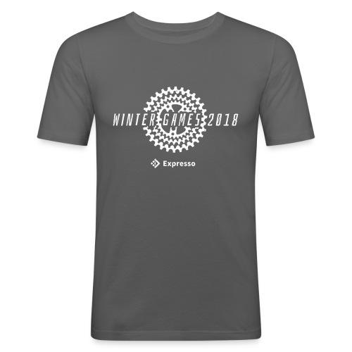 Winter Games (Men) - Men's Slim Fit T-Shirt