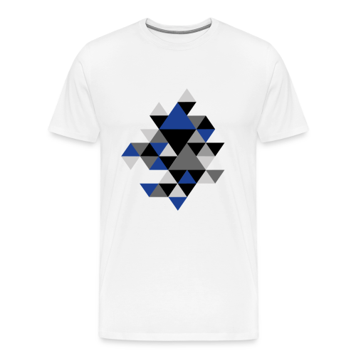 Triangel Muster T-Shirts - Männer Premium T-Shirt