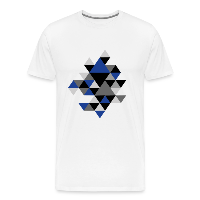 Triangel Muster T-Shirts