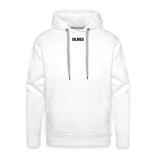 DLN S3 Pullover Black - Männer Premium Hoodie