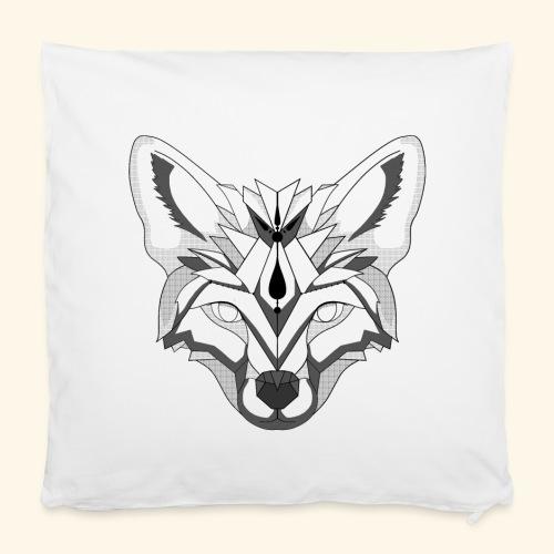 Minimalischter Fuchs - Kissenbezug 40 x 40 cm