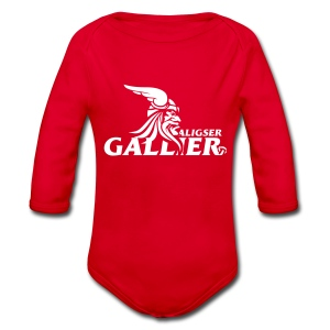 Gallier Babybody - Baby Bio-Langarm-Body