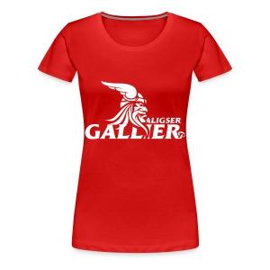 Gallier Fanshirt Damen - Frauen Premium T-Shirt