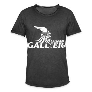 Gallier Fanshirt vintage - Männer Vintage T-Shirt