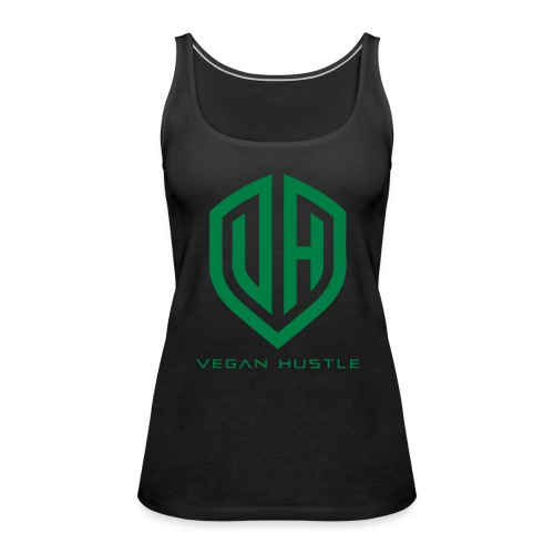 WOMEN'S VEGAN HUSTLE TANK TOP - Women's Premium Tank Top