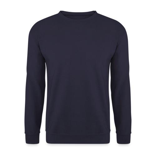 Sweat-shirt Homme - disponible en blanc noir, marine et avec motifs