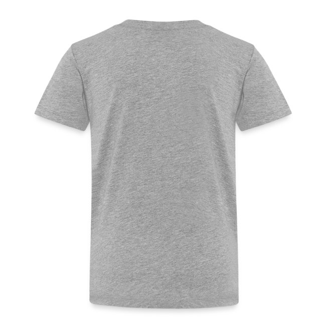 Play Outside Kids T-Shirt charcoal grey