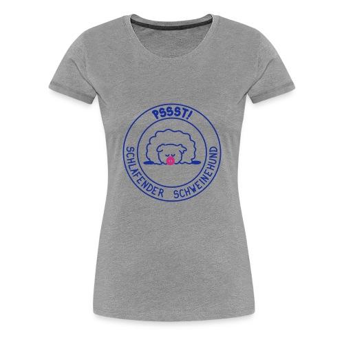 Schweinehund - Frauen Premium T-Shirt