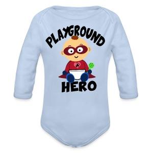 Playground Hero - Baby Bio-Langarm-Body