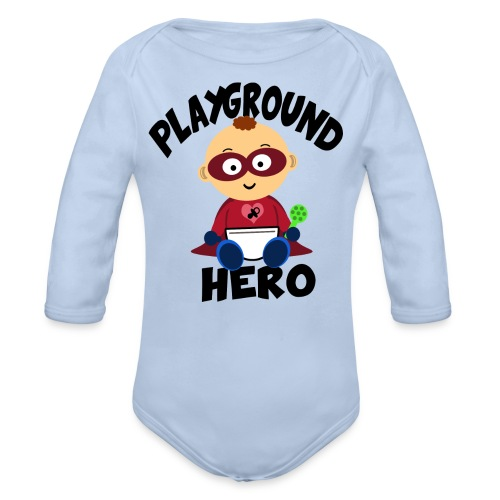 Playground Hero - Baby Bio-Langarm-Body