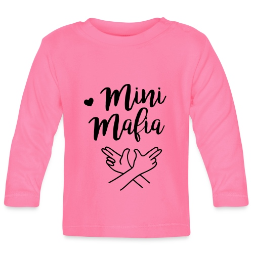Babyshirt Mini-Mafia (3-18 Monate)  - Baby Langarmshirt
