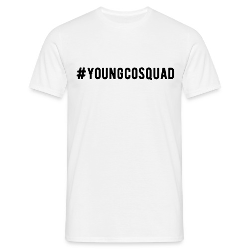 YoungcoSquad White tee - Men's T-Shirt