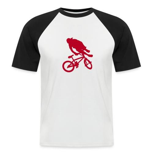 BMX DIVISION - T-shirt baseball manches courtes Homme
