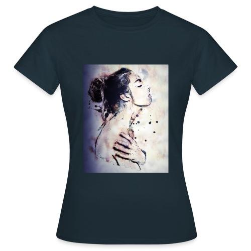 Mädchen im Bad by Brigitte Werner - Frauen T-Shirt