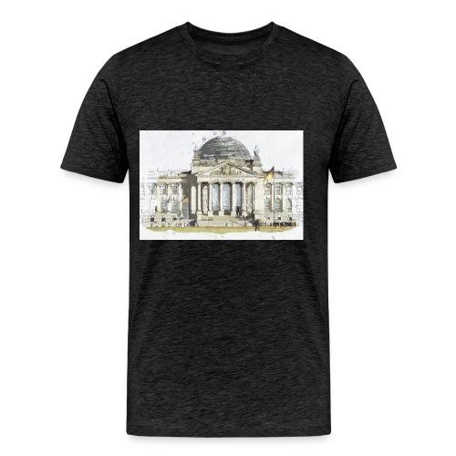 Reichstag by Brigitte - Männer Premium T-Shirt