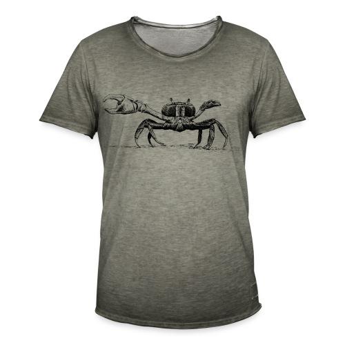 Krebs - Männer Vintage T-Shirt